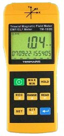 Datalogging 3-Axis Gaussmeter w/ PC Interface